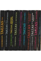 10 db vegyes Tarzan-könyv - Rice Burroughs, Edgar - Régikönyvek