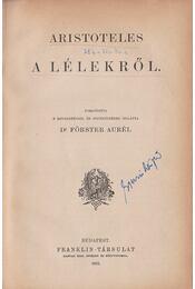 Aristoteles a lélekről - Aristoteles - Régikönyvek