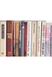 13 db romantikus regény - Régikönyvek