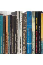 15 db külföldi sci-fi - Régikönyvek