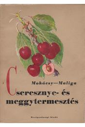 Cseresznye- és meggytermesztés - Mohácsy Mátyás, Maliga Pál - Régikönyvek