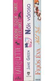 3 db romantikus regény - Régikönyvek