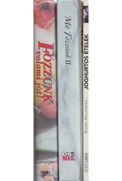 3 db szakácskönyv - Régikönyvek
