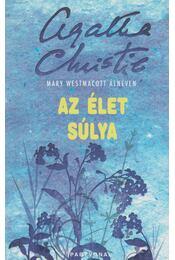 Az élet súlya - Agatha Christie - Régikönyvek