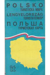 Lengyelország turistatérkép - -- - Régikönyvek