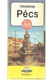 Pécs várostérkép - -- - Régikönyvek