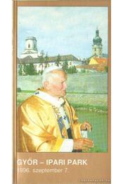 Szentmise a Szentatyával Győrben - -- - Régikönyvek