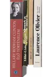 4 db életrajzi regény - Régikönyvek