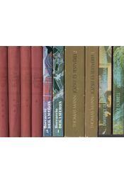 4 db folytatásos regény - Régikönyvek