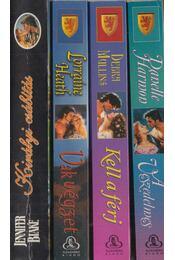 4db szerelmes regény - Régikönyvek