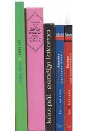 5 db konyhaművészeti kötet - Régikönyvek