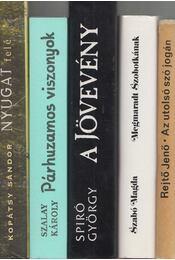 5db vegyes magyar regény - Régikönyvek