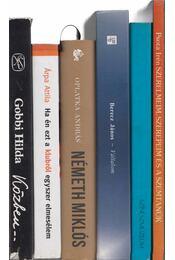 6 db életrajzi kötet - Régikönyvek