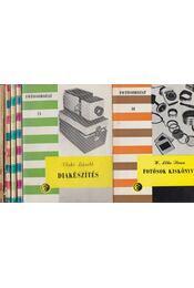 6 db Filmsorozat kötet - Régikönyvek
