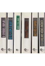 6 db vegyes akció regény - Régikönyvek