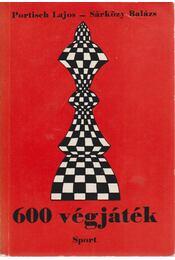 600 végjáték - Portisch Lajos, Sárközy Balázs - Régikönyvek