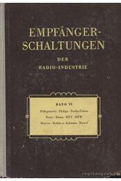Empfanger-Schaltungen der Radio-Industrie Band VI - Lange, Heinz - Régikönyvek