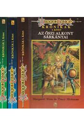 Dragonlance Krónikák I-III. -  Tracy Hickman, Margaret Weis - Régikönyvek