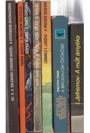 7 db sci-fi regény - Régikönyvek