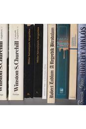 7 db történelmi könyv - Régikönyvek