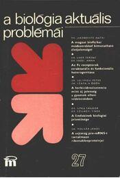 A biológia aktuális problémái 27. - Régikönyvek