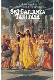 Srí Caitanya tanítása - A. C. Bhaktivedanta Swami Prabhupáda - Régikönyvek