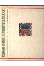 A fekete bárány - Kádár Imre - Régikönyvek