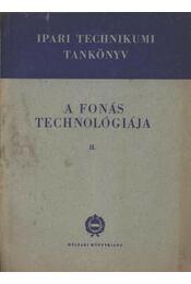 A fonás technológiája II. - Régikönyvek