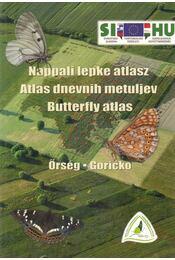 Nappali lepke atlasz - Ábrahám Levente - Régikönyvek