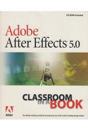 Adobe after effects 5.0 - Régikönyvek