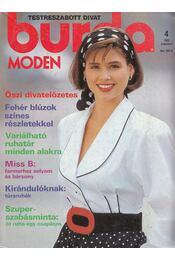 Burda Moden 1989/4 augusztus - Aenne Burda (szerk.) - Régikönyvek