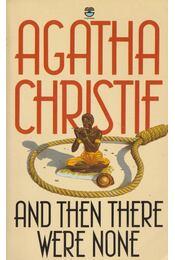And Then There Were None - Agatha Christie - Régikönyvek