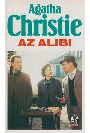 Az alibi - Agatha Christie - Régikönyvek