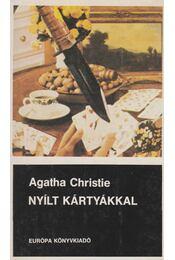 Nyílt kártyákkal - Agatha Christie - Régikönyvek