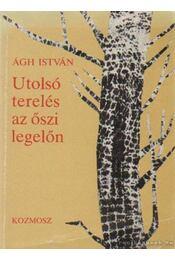 Utolsó terelés az őszi legelőn - Ágh István - Régikönyvek