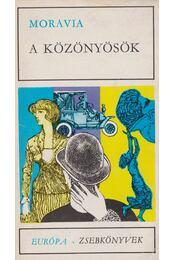 A közönyösök - Alberto Moravia - Régikönyvek
