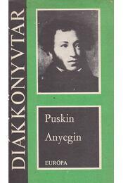 Anyegin - Alekszandr Puskin - Régikönyvek