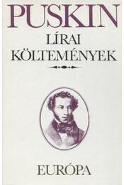 Lírai költemények - Alekszandr Puskin - Régikönyvek