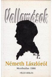 Vallomások Németh Lászlóról - Alföldy Jenő - Régikönyvek