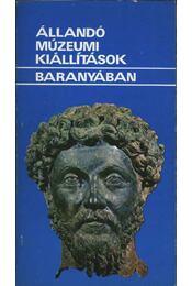 Állandó múzeumi kiállítások Baranyában - Régikönyvek