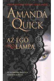 Az égő lámpa - Amanda Quick - Régikönyvek