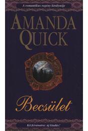 Becsület - Amanda Quick - Régikönyvek