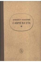 Carmencita - Ambrózy Ágoston - Régikönyvek