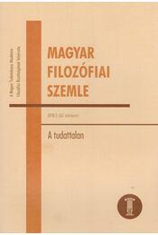 Magyar Filozófiai Szemle 2018/3 - Ambrus Gergely  - Régikönyvek