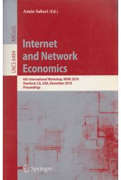 Internet and Network Economics - Amin Saberi - Régikönyvek