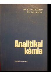 Analitikai kémia - Zapp Erika, Pataki László - Régikönyvek