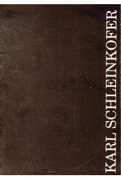 Karl Schleinkofer kiállítása - Andrási Gábor - Régikönyvek