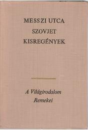 Messzi utca - Andrej Platonov, Vera Panova, Lilli Promet, Vaszilij Bikov - Régikönyvek