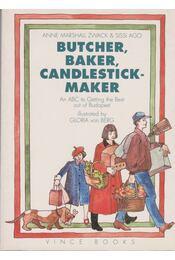 Butcher, Baker, Candlestick-maker - Anne Marshall Zwack, Sissi Ago - Régikönyvek