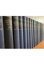 La Somma Teologica I-XXXIII + Introduzione + Indice - Aquinói Szent Tamás - Régikönyvek